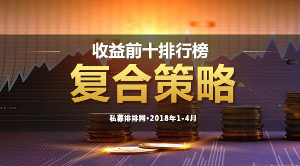 1-4月复合策略:信安联稳定成长1号夺冠,首尾相差悬殊