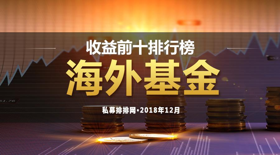 12月海外私募基金榜:赛亚资本再次夺冠,前海实盈资产入围五只!