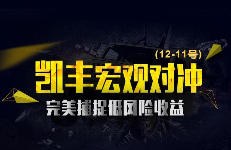 【专题】凯丰宏观对冲12-11号